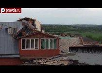 Ураган обрушился на Тульскую область
