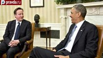 Обама и Кэмерон хотят остановить Россию