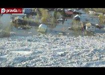 Наводнение обрушилось на Аляску
