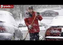 США завалил аномальный снегопад