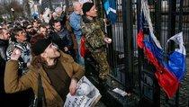 В Киеве атакуют российское посольство