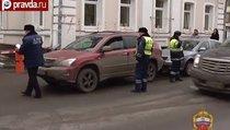 Женщина за рулём сбила полицейского