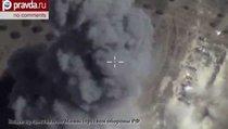 Российская авиация обращает боевиков ИГИЛ в бегство