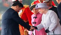 Си Цзиньпина приняли в Лондоне по-королевски