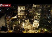 В Индии рухнуло здание