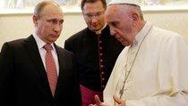 """""""Ангел мира"""" в руках у Путина"""