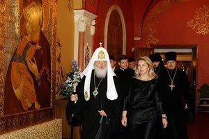 патриархКириллиСветланаМедведева